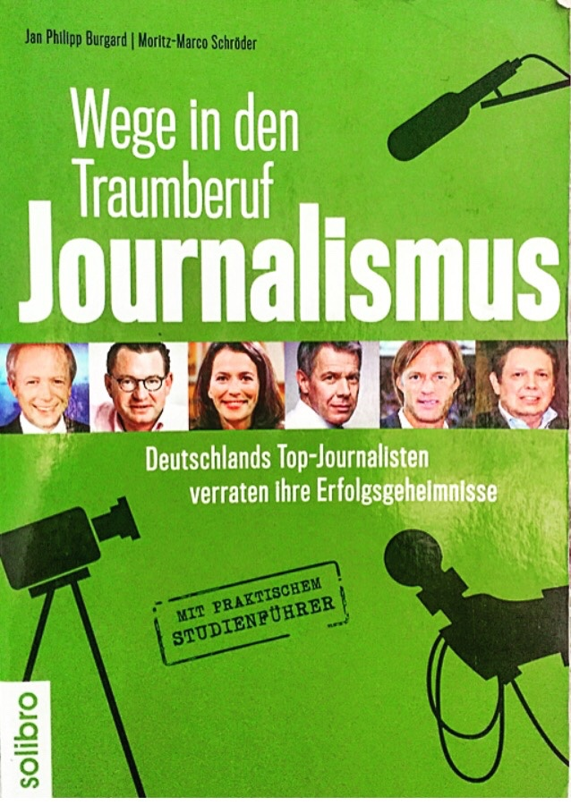 "Buch-Cover ""Wege in den Traumberuf Journalismus"""
