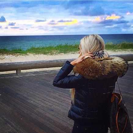 Sylt, girl, blondie, blondiful, love, moncler, fur, travel, sea, meer, love